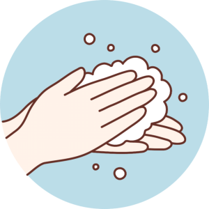 Illustration Of Washing Hands